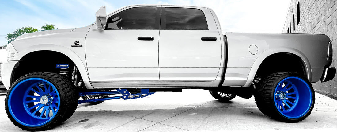 Ram 2500 Lifted Truck Custom Color and Badging Knockout Customz