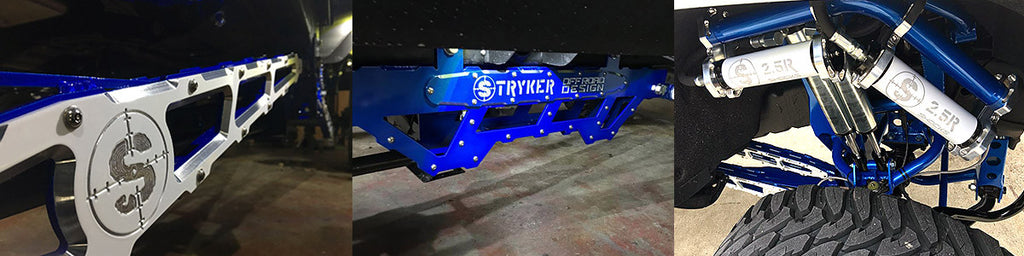 Stryker Off Road Design About Banner 1 suspension lifts, identity series, dodge, ford, GM