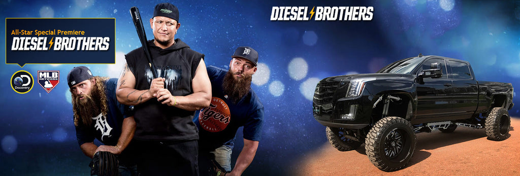 Stryker Off Road Design diesel brothers banner cadimax