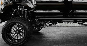 stryker F250 F350 4-link lift kit with front cradle drop