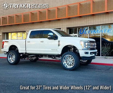 7 Inch 2017 - 2019 Ford F-250 / F-350 Super Duty Identity Series Suspension Lift Kit - Stryker Off Road Design
