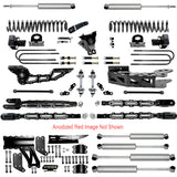 "6"" F450 4-LINK LIFT KIT FOR 2017 TO 2021 Ford Super Duty"
