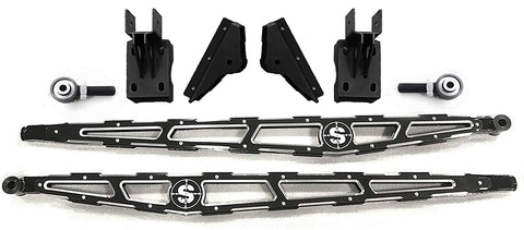 2017-2019 Ford F250/350 Super Duty Short Bed Ladder/Traction Bars - Identity Series