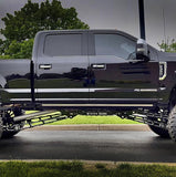 2017-2019 Ford F250/F350 Super Duty Cradle & Long Bed Traction Bars - Identity Series - Stryker Off Road Design