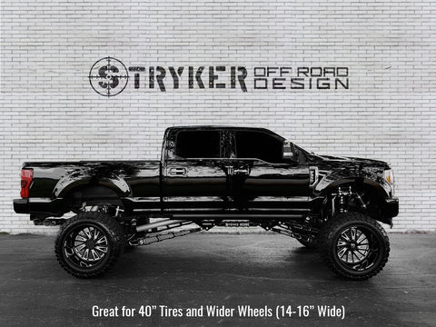 12 Inch Ford 2017 - 2018 F250 - F350 Super Duty Identity Series Suspension Lift Kit - Stryker Off Road Design