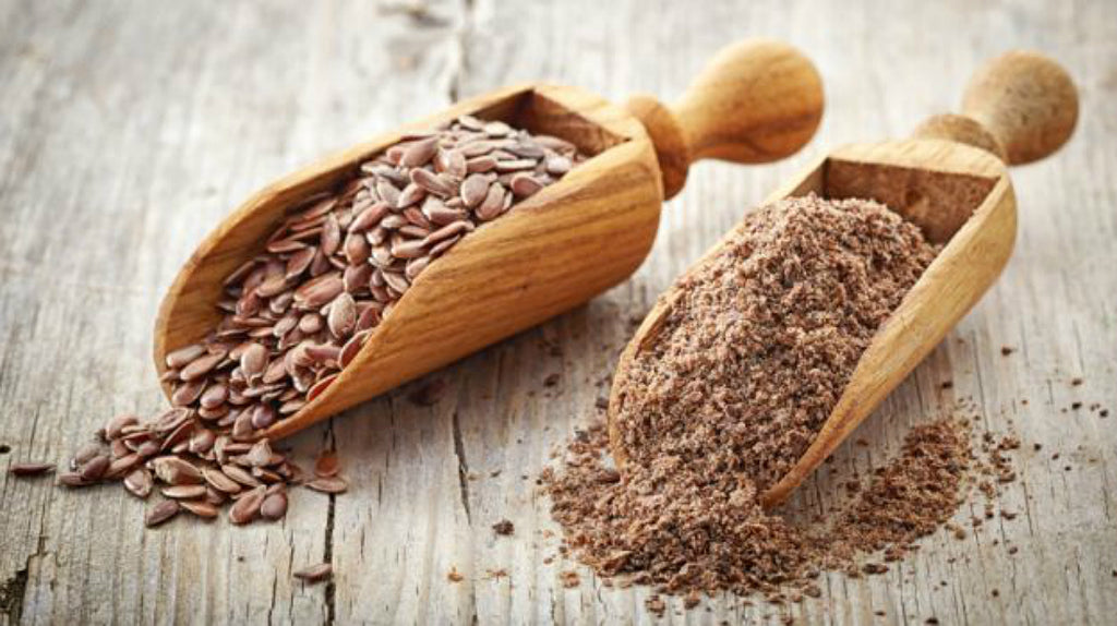 Did you know Flaxseed Oil contains almost two times the Omega 3s as Fish Oil?