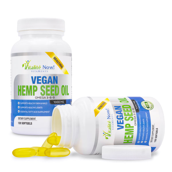 Vegan Hemp Seed Oil