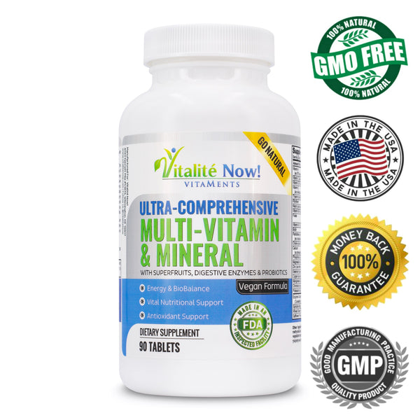Vegan Multivitamin and Mineral