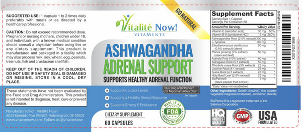 Adrenal Support with Ashwagandha