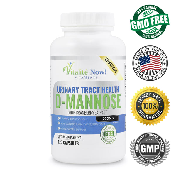 Pure D-Mannose with Cranberry Extract