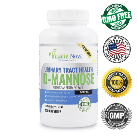 *New* Pure D-Mannose with Cranberry Extract