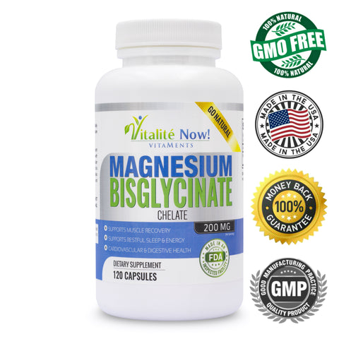 *New* Magnesium Bisglycinate