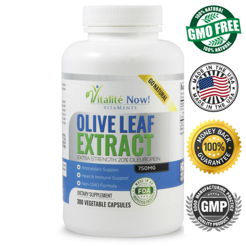 Super Strength Olive Leaf Extract Up Size 300 count