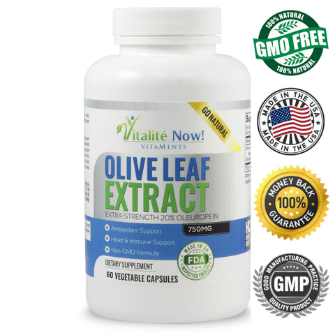 Super Strength Olive Leaf Extract 60 count