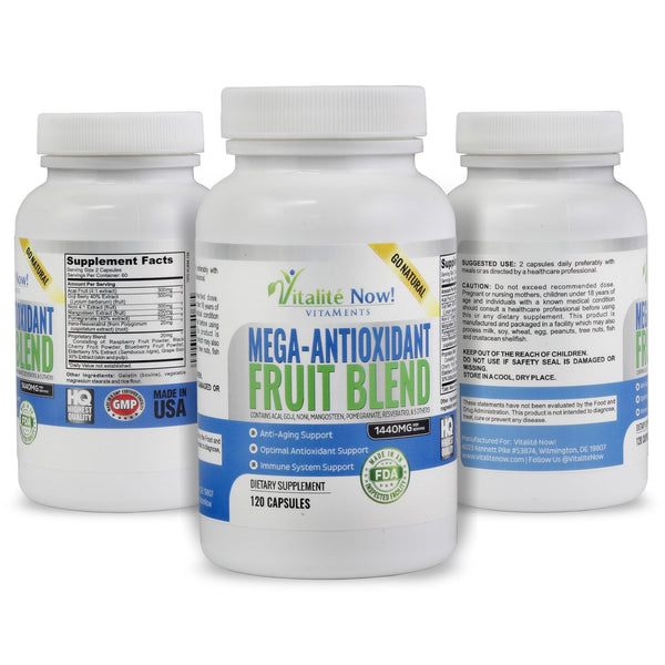 Mega Super Fruit Antioxidant Supplement
