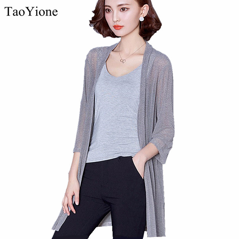 2016 Summer Kimono Cardigan Women Loose Long Blouses Shirt Large Size Chiffon Beach Shirts Sunscreen Clothing Blusas Plus Size - xfunshopping