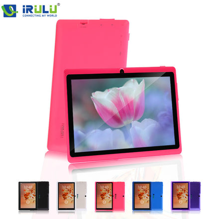 "Original iRULU eXpro X1 7"" Tablet 1024*600 HD Quad Core Android 4.4 Kitkat Tablet PC 8GB ROM Wifi Tablet Multi Colors - xfunshopping"