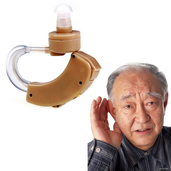 1 Pc Best Digital Tone Hearing Aids Aid Behind The Ear Sound Amplifier Adjustable#LY069