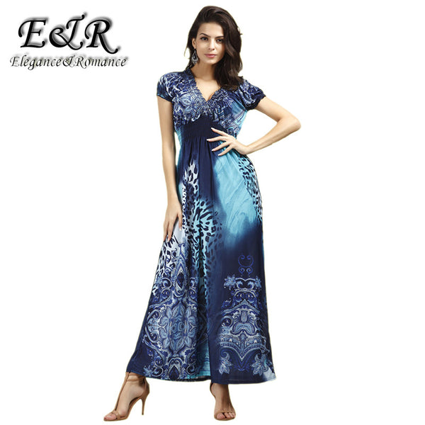 2016 New Retail Spring And Summer Fashion Beach Dress Leopard Dress Bohemian Mopping Large Size Ice Silk Dresses
