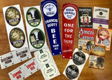 Tap Handle Labels