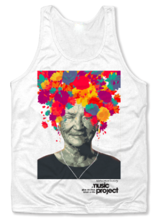Go with the 'Flow' Music Project Unisex Tank Top