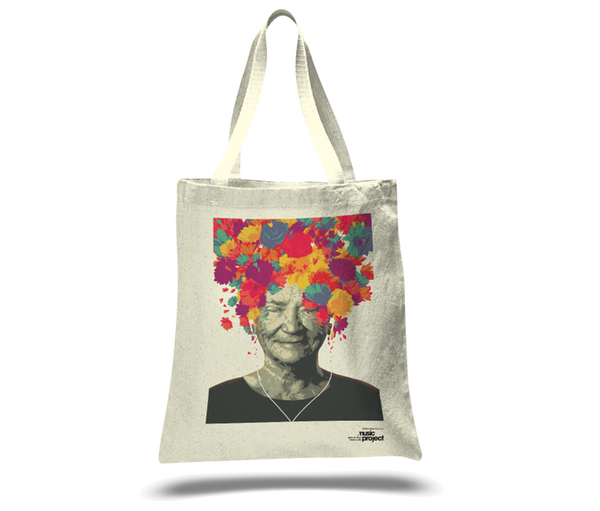 Go with the 'Flow' Music Project Tote