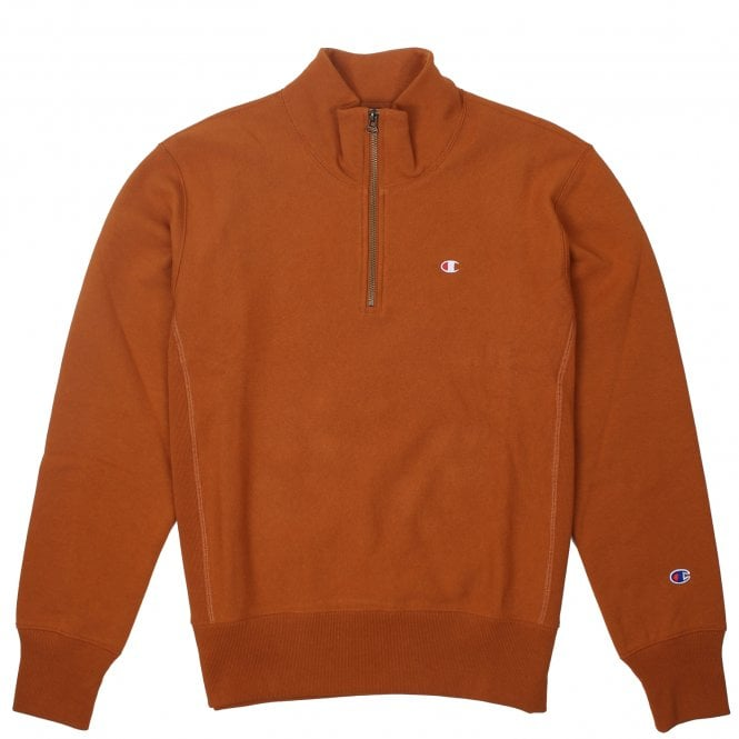 CHAMPION Half zip Men - brown - A.C.A.B.store