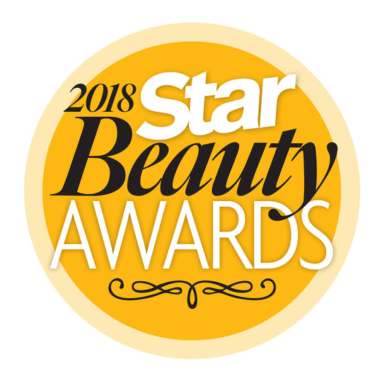 2018 Star Beauty Awards Winner!