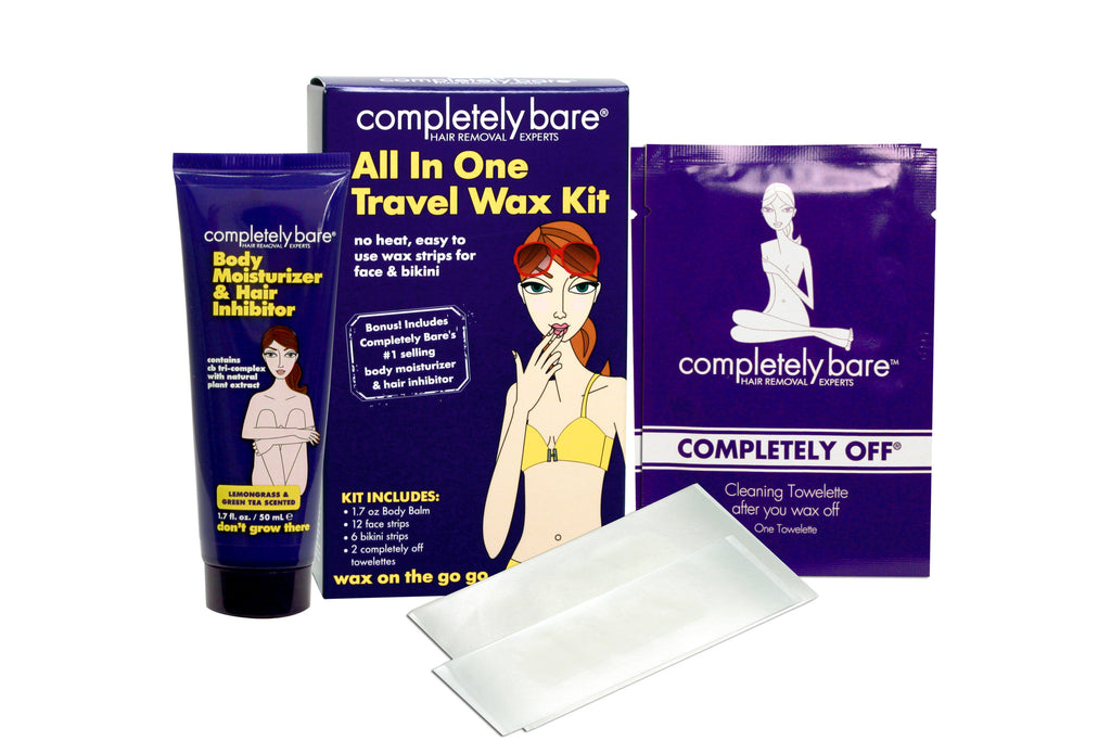Wax on the Go Go All In One Travel Wax Kit