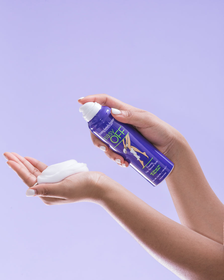 easy OFF <br>Foaming Hair Removal Spray