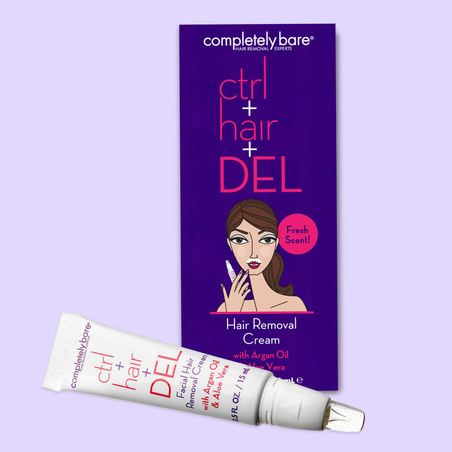 ctrl+hair+DEL Hair Removal Cream
