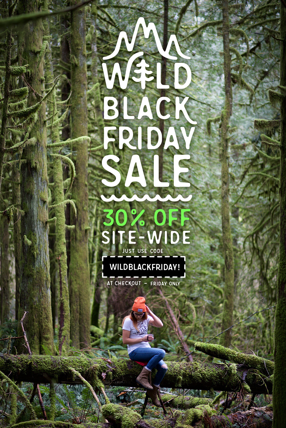 WILD OUTDOORS CLUB- BLACK FRIDAY SALE - NOV 25TH