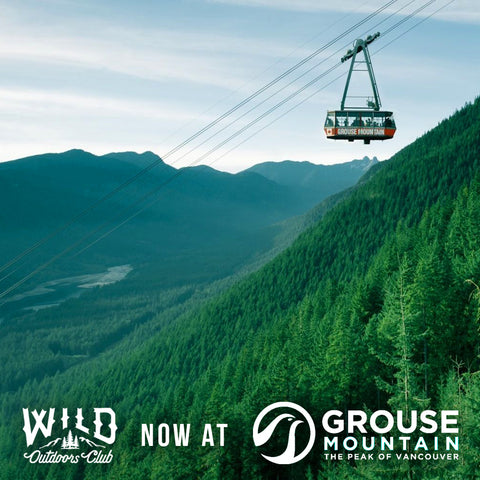 GET WILD AT GROUSE MOUNTAIN