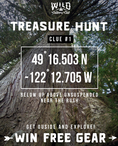 Wild Outdoors Club Treasure Hunt Clue#1