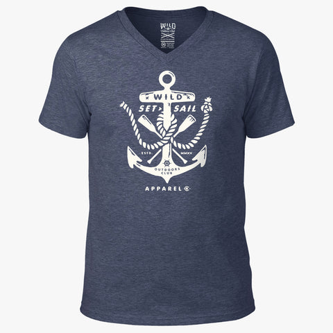 """ANCHOR"" - MEN'S V-NECK TEE"