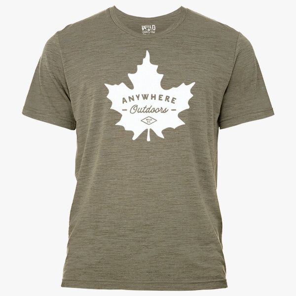 """ANYWHERE OUTDOORS"" - MEN'S TEES"
