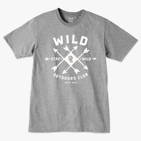 """ARROWS"" - MENS TEE - ATHLETIC HEATHER"
