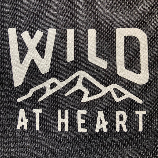 """WILD AT HEART"" CREW NECK SWEATSHIRT"