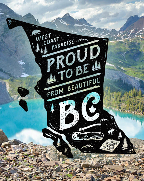 """BC PROUD"" - MEN'S TEES"