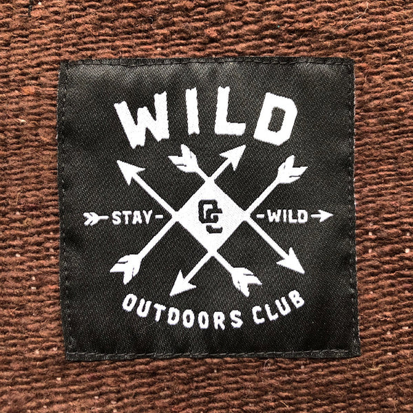 "WILD ""BEACHCOMBER"" HEAVYWEIGHT CAMP BLANKET"