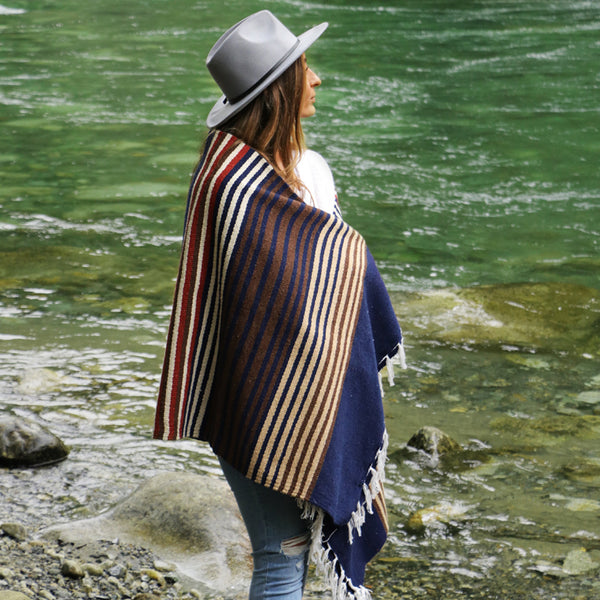 "WILD ""LAKESHORE"" HEAVYWEIGHT CAMP BLANKET"