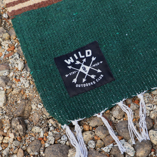 "WILD ""WOODLAND"" HEAVYWEIGHT CAMP BLANKET"