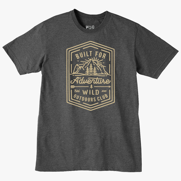 """BUILT FOR ADVENTURE 2"" - MENS TEES"