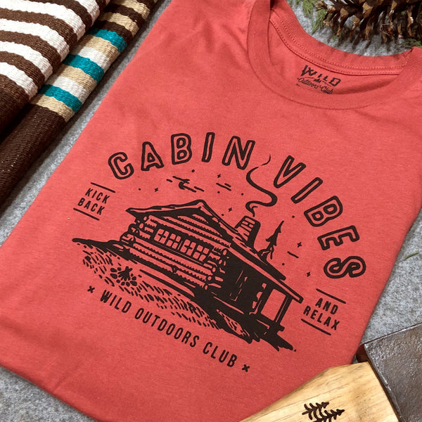"""CABIN VIBES"" - MEN'S TEES"