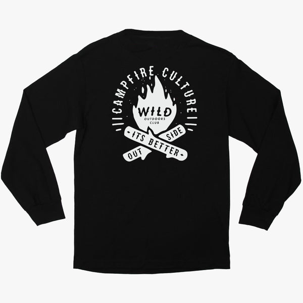 """CAMPFIRE CULTURE"" - LONG SLEEVE TEE"