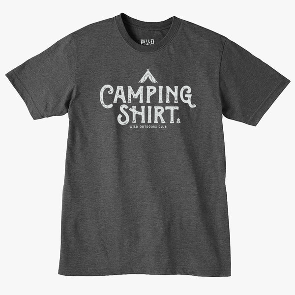 """CAMPING SHIRT""  MENS TEES"