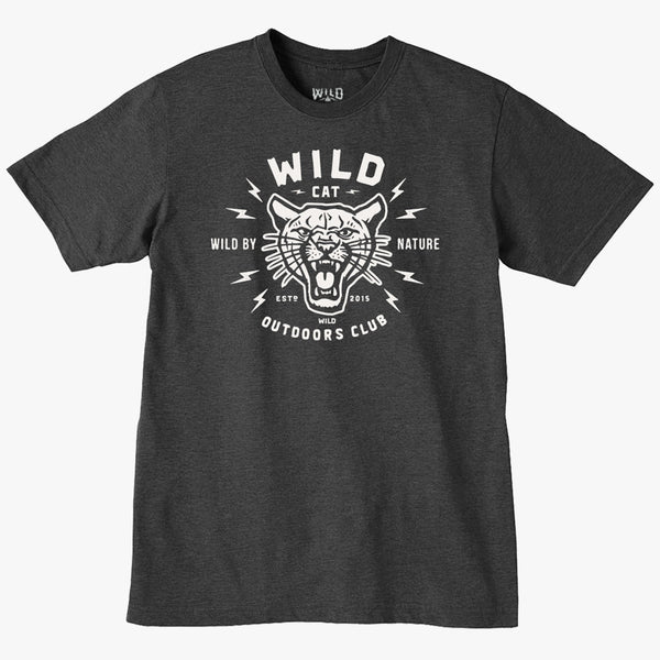 """WILD CAT"" - MENS TEES"