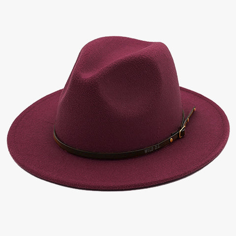 """EXPEDITION"" - FELTED WIDE BRIM FEDORA - BRANDYWINE"
