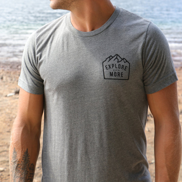 """EXPLORE MORE CREST"" - MENS TEES"