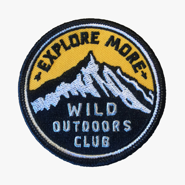 """EXPLORE MORE"" - STITCH-ON PATCH"